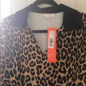 Jude Connally Michelle Pointe Leopard dress